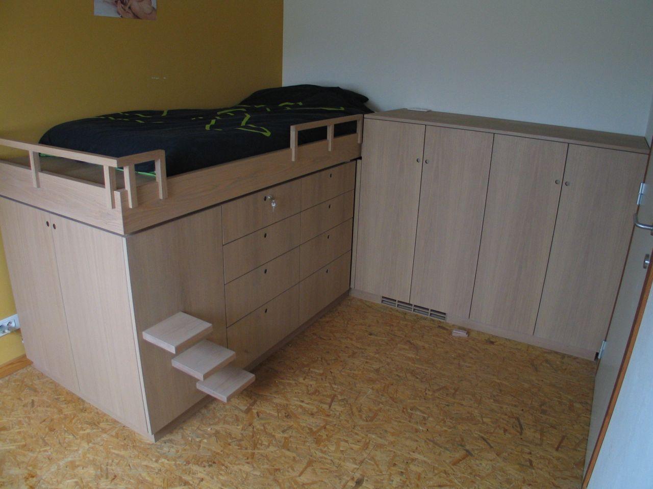 Top Bed en kasten. – Frits Kuitenbrouwer Tailor-made Furniture LC81
