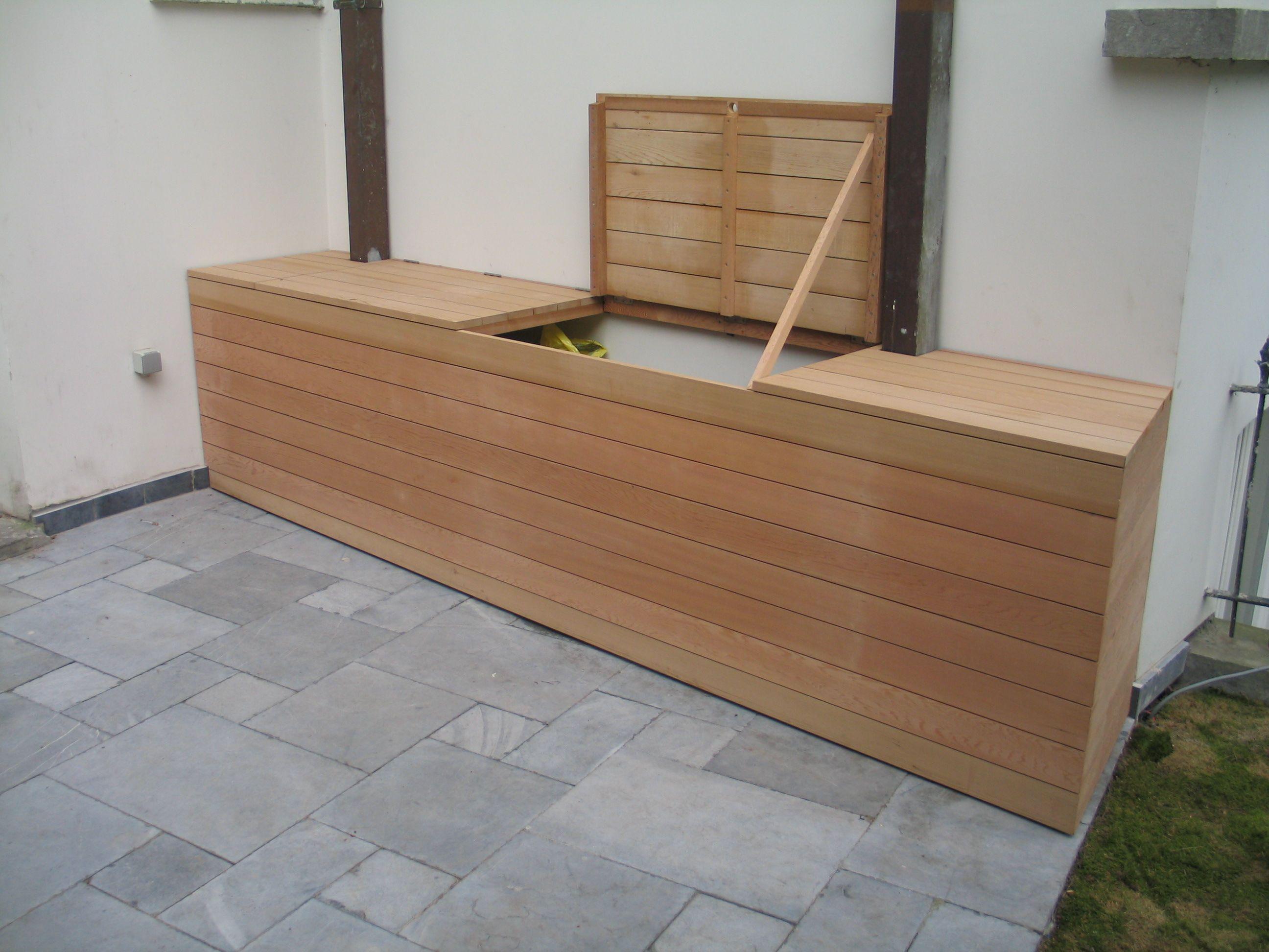 Buitenkasten hout