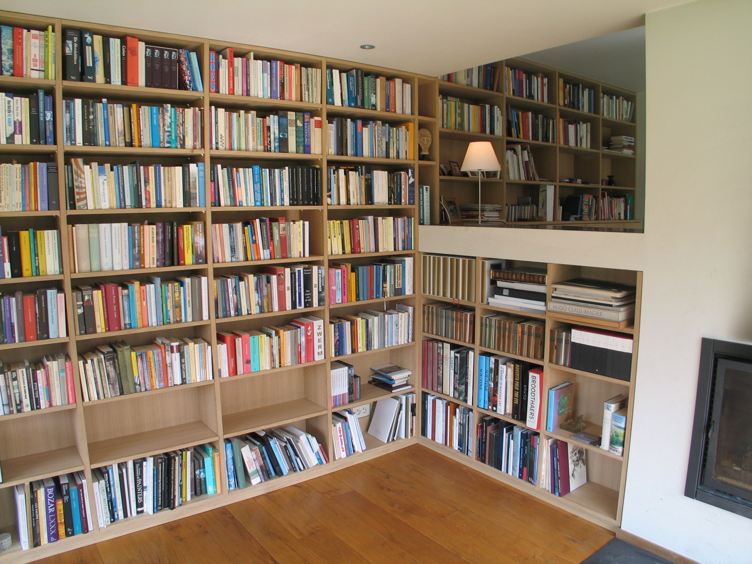 Cupboards frits kuitenbrouwer tailor made furniture page 2 - Muur bibliotheek ...